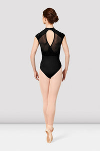 BLOCH MIRELLA  VIENNA - High Neck Cap Sleeve Leotard - M5091LM