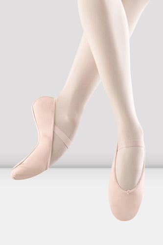 Bloch Arise Leather Ballet Shoe Pink