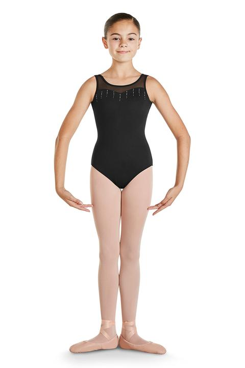 Sweetheart Diamante Tank Leotard 8-10 Years