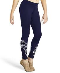 Bloch KAIA Laser Cut Panel Leggings