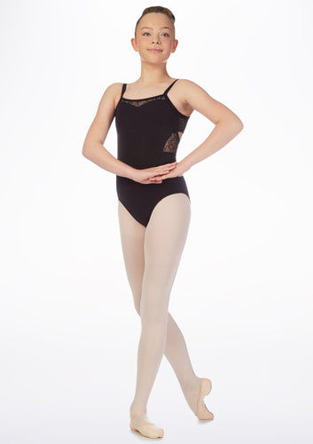 Bloch Mirella Twist Back Juliet Lace Camisole Leotard