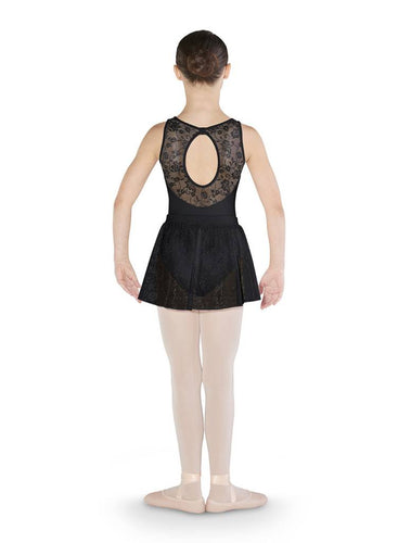 Bloch Mirella Flower Open Back Tank Leotard
