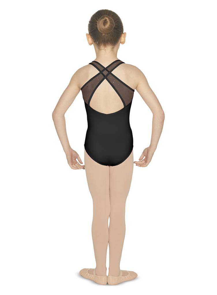 Bloch Mirella Sweetheart Neck Cross Back Tank Leotard