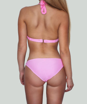 Pink Push Up Underwire Bikini - Charm Bikini | Luxury Designer Swimwear & Beachwear Brand