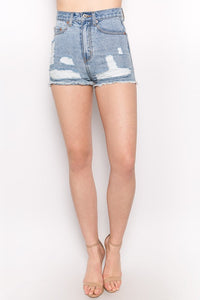 Callahan Shorts-Light Denim