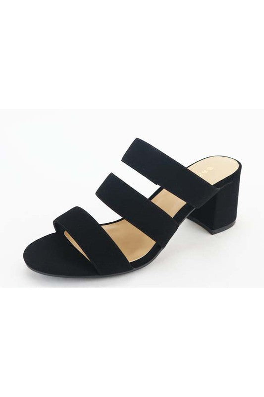 Monica Heel- Black