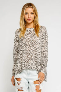 Gwen Sweater-Leopard