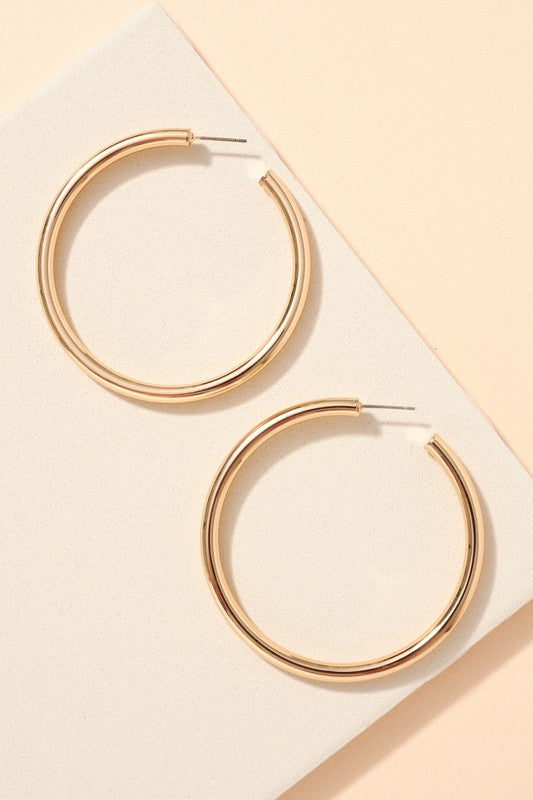 Joey Earrings-Gold