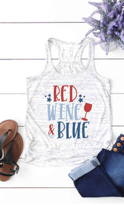 Red Wine & Blue Tank
