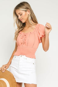 FINAL SALE Mia Cropped Top