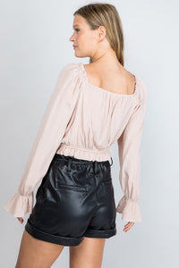 Rayne Top- Blush