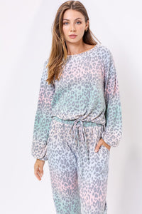 Lindy Top-Leopard