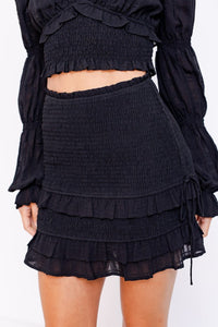 Eddie Skirt- Black