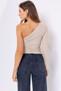 Carter Top-Taupe