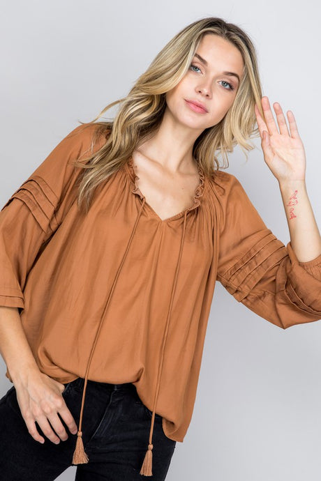 FINAL SALE Raleigh Top-Rust