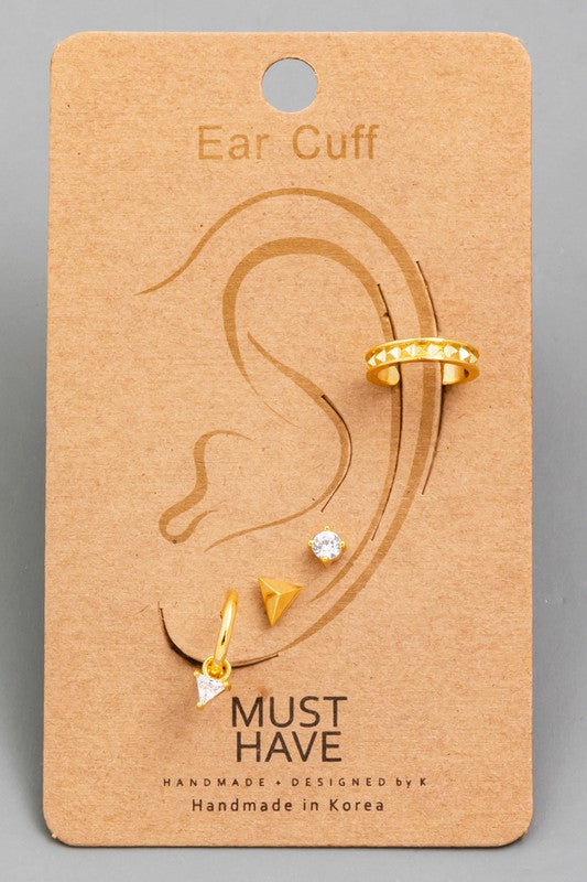 Cori Ear Cuff Set
