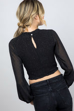Carolina Top-Black