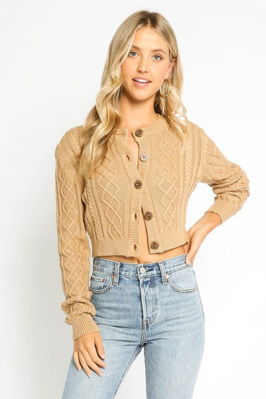 Lucy Sweater- Camel
