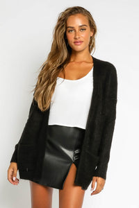 Karly Cardigan-Black