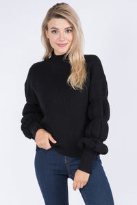 Jennifer Sweater- Black
