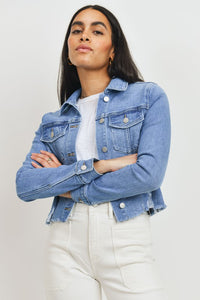 Missy Jacket-Light Denim