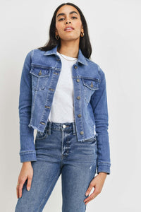 Missy Jacket-Medium Denim
