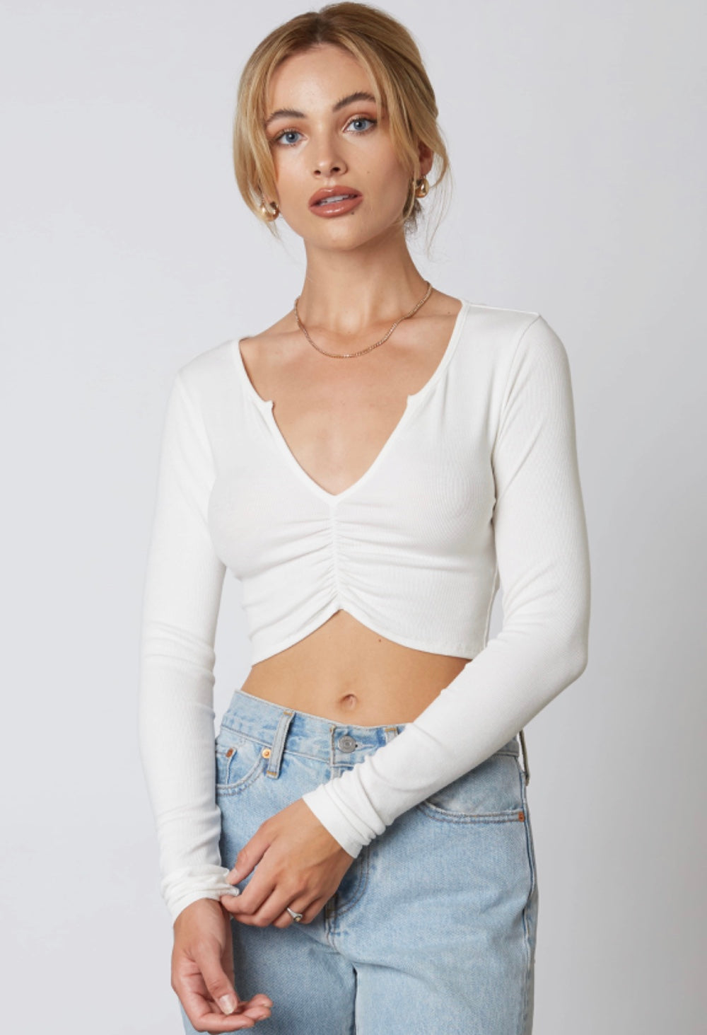 Sydnee Top- White