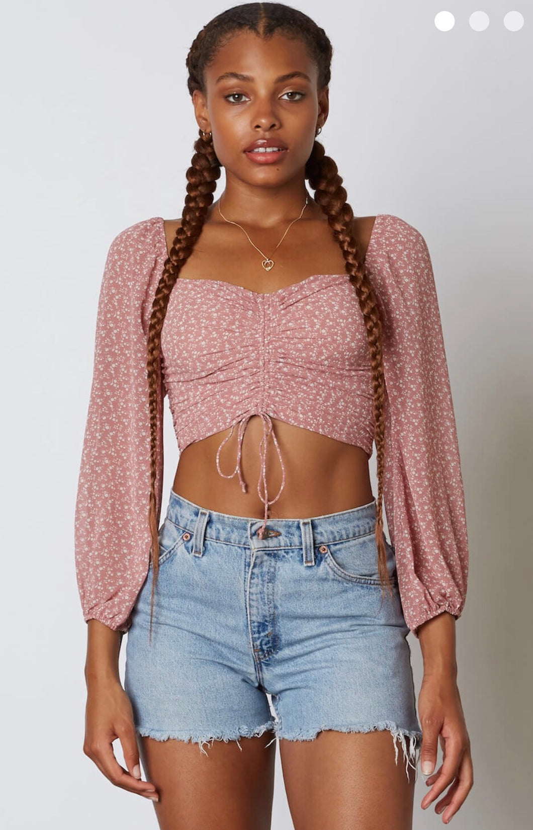 Valerie Top- Mauve