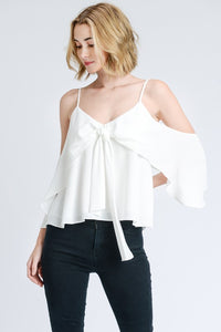 FINAL SALE Cassie Cold Shoulder Top