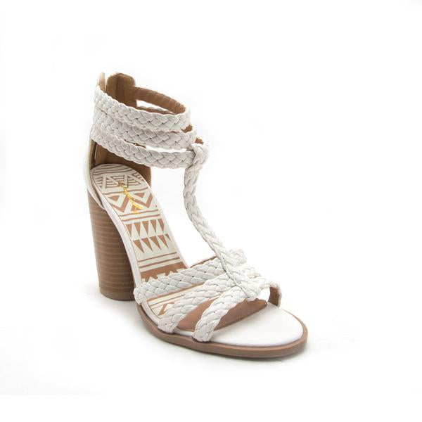 FINAL SALE Bailey Braided Heel