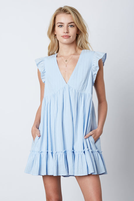 Aurora Dress- Blue