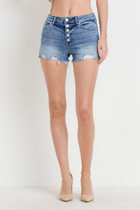 Lyla Shorts- Medium Denim