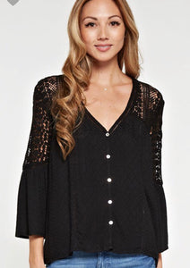 Ally Top- Black
