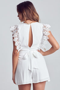 FINAL SALE Lacey Romper