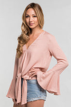 FINAL SALE Jeanette Blouse- Pink