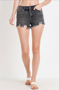 Lyla Shorts- Faded Black