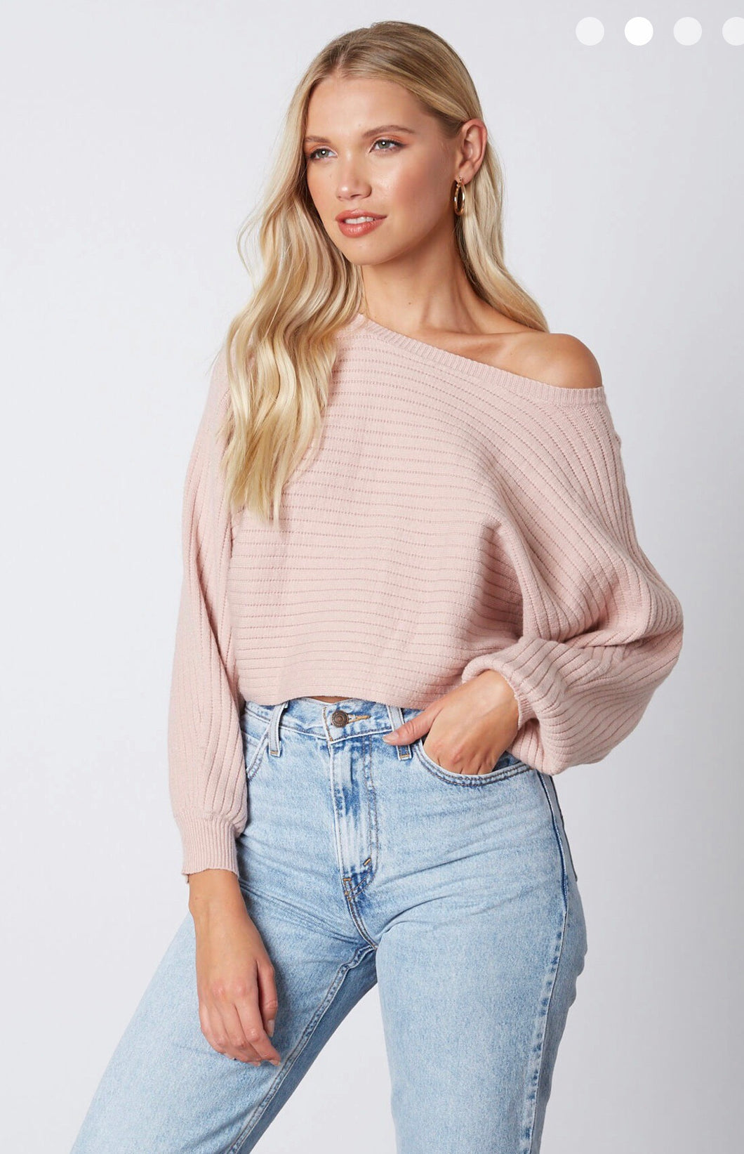 Amanda Sweater- Dusty Pink