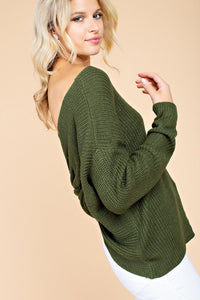 FINAL SALE Kristen Twist Sweater