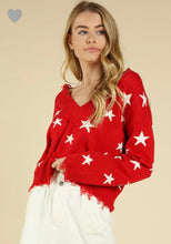 Tyra Sweater- Red