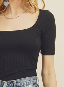 Gia Top- Black