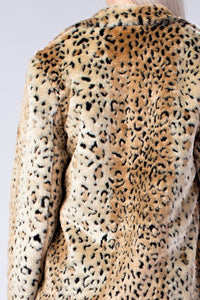 FINAL SALE Leticia Leopard Coat