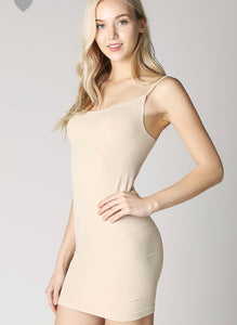 Camisole Slip Dress