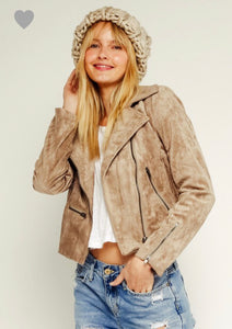 Tinsley Jacket- Light Khaki
