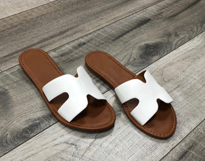 Megan Sandal- White