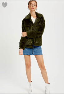 FINAL SALE Etta Jacket- Green
