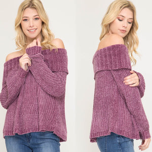 Olivia Off-The-Shoulder Sweater