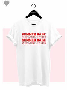 FINAL SALE Summer Babe Tee