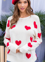 Love Sweater- Red