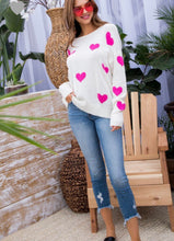 Love Sweater- Pink