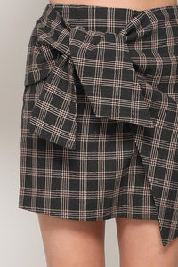 FINAL SALE Perry Plaid Skirt